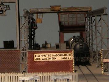 Modelbaan ho de fabriek - Lichtgrijze gang ...